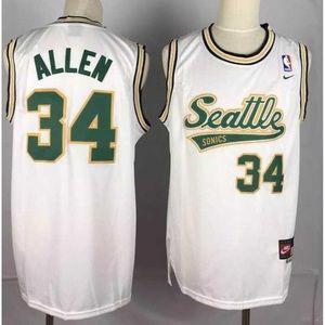 Seattle SuperSonics Ray Allen Jersey